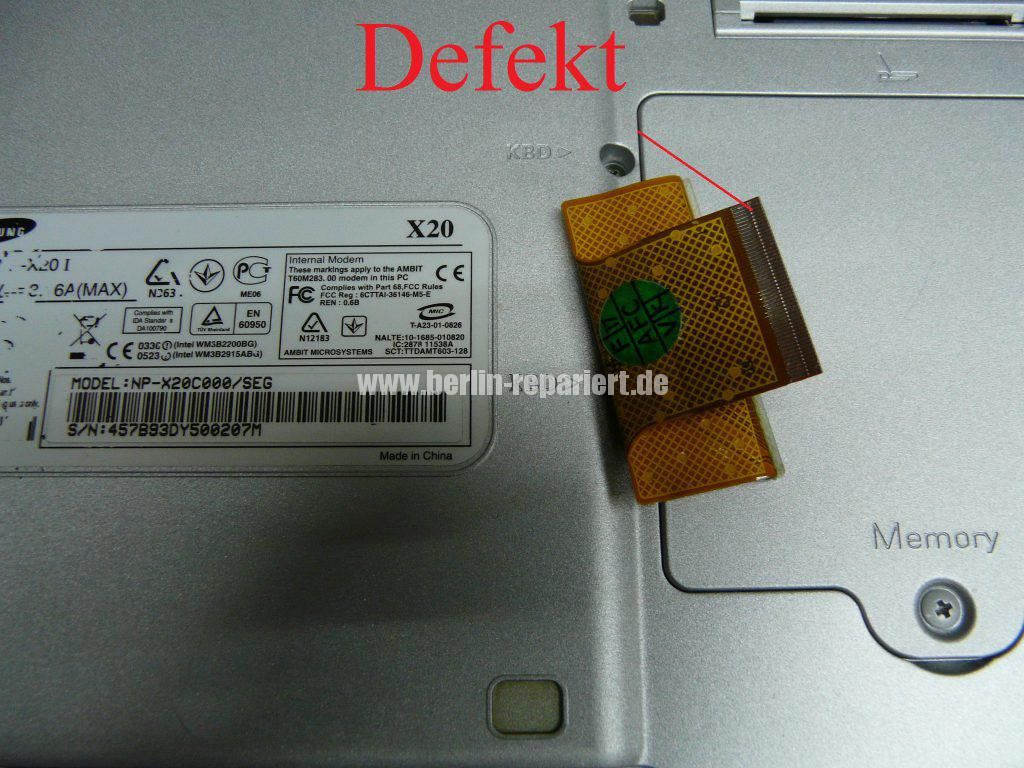 Samsung X20, findet der HDD nicht mehr (5)