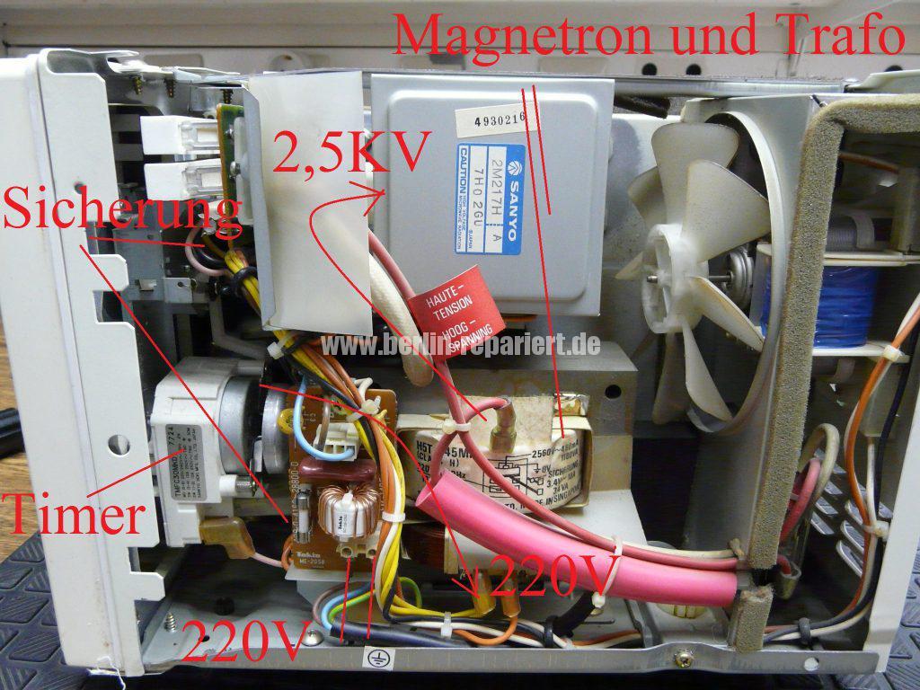 Sanyo EM120, keine Funktion (4)