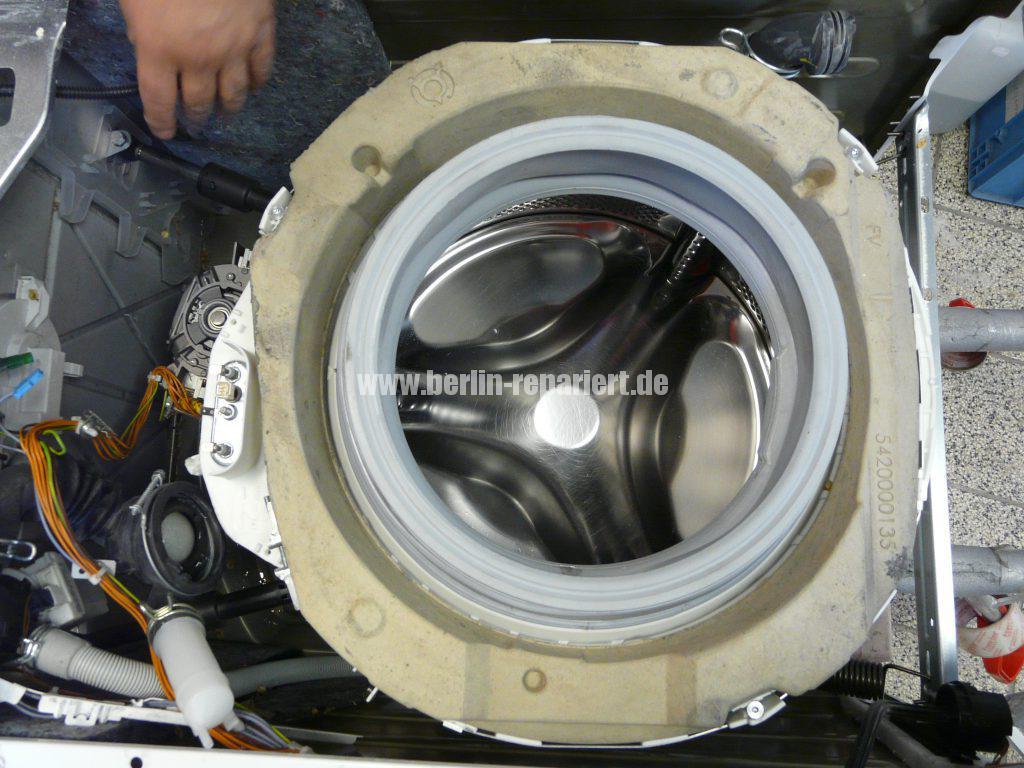 Siemens E14, Laugenbehälter Trommeleinheit Kugellagerschaden (11)