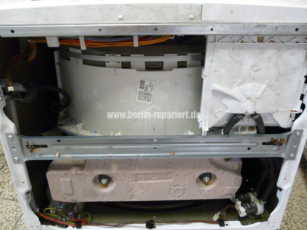 Siemens E14, Laugenbehälter Trommeleinheit Kugellagerschaden (2)