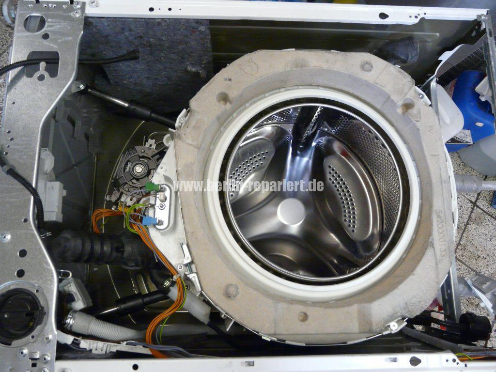 Siemens E14, Laugenbehälter-Trommeleinheit Kugellagerschaden (23)