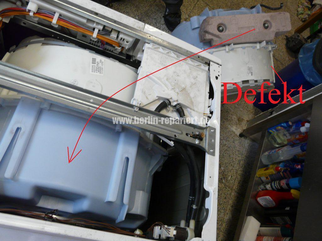 Siemens E14, Laugenbehälter-Trommeleinheit Kugellagerschaden (24)
