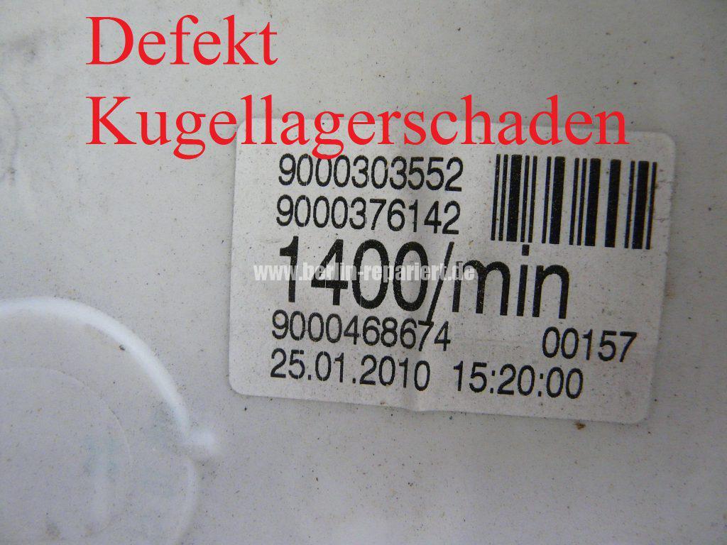 Siemens E14, Laugenbehälter Trommeleinheit Kugellagerschaden (3)