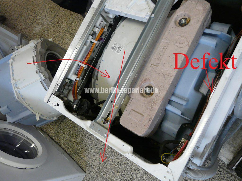 Siemens E14, Laugenbehälter Trommeleinheit Kugellagerschaden (7)