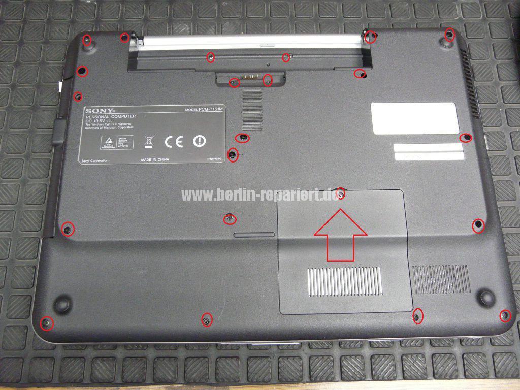 Sony VGN-NS21S, HDD defekt (2)