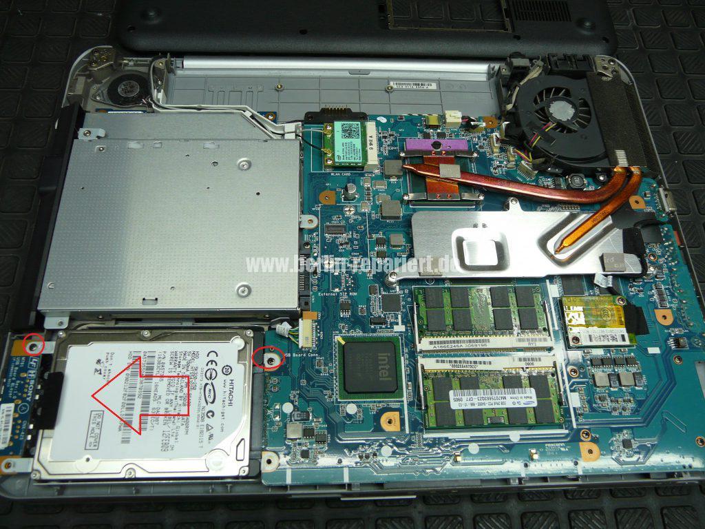 Sony VGN-NS21S, HDD defekt (4)