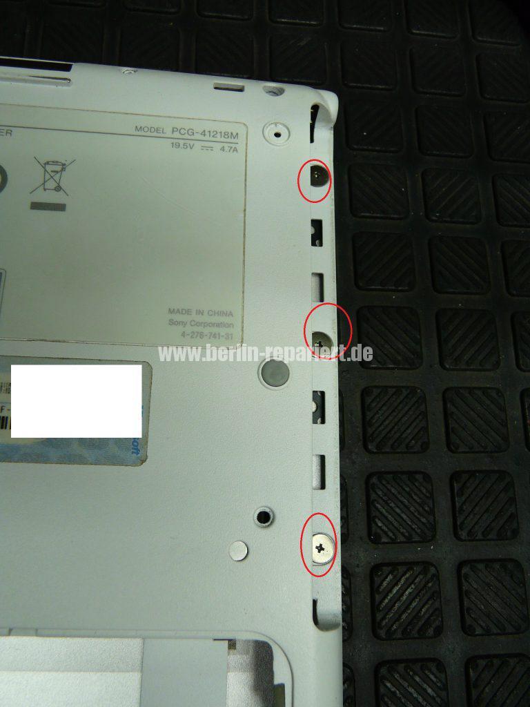 Sony Vaio VPCSB1S1E, keine Funktion (6)