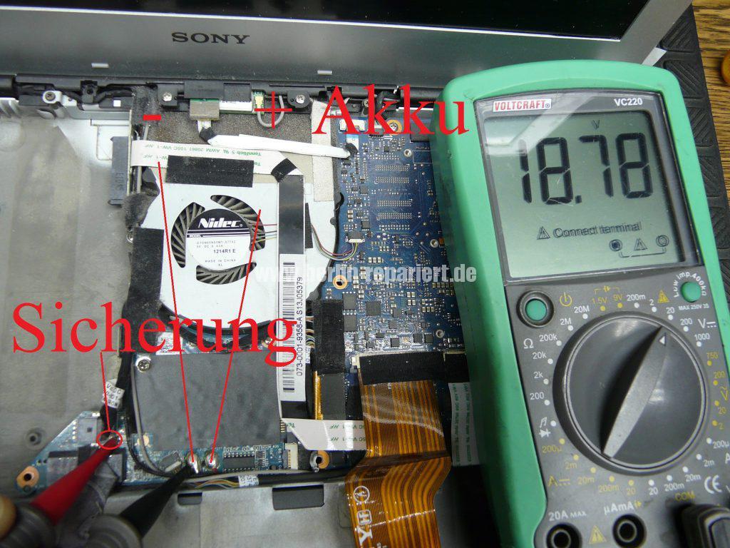 Sony Vaio VPCSB1S1E, keine Funktion (9)