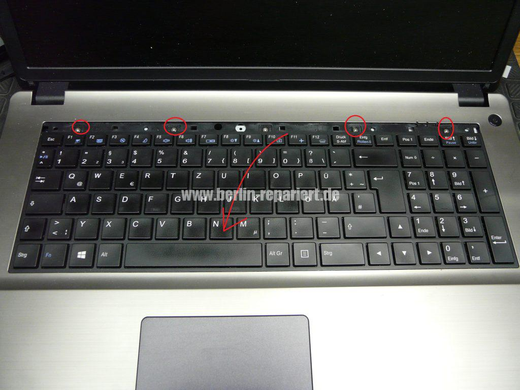 Terra Mobile 1749, Tastatur Defekt (8)