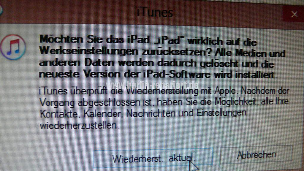 iPad ist deaktiviert (4)
