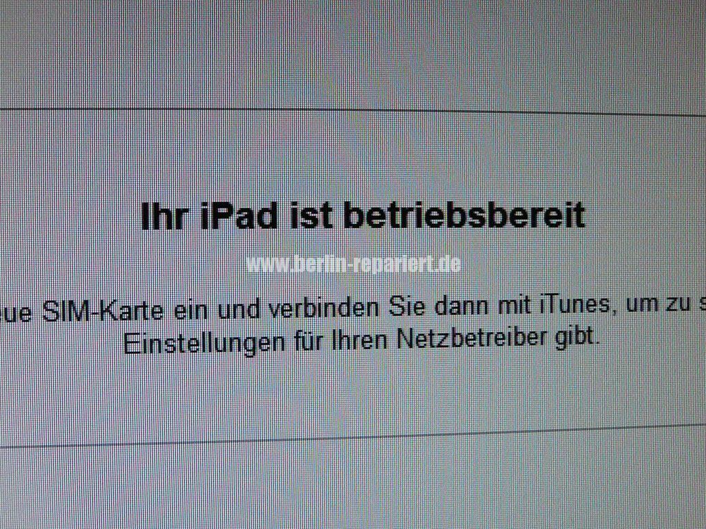 iPad ist deaktiviert (9)