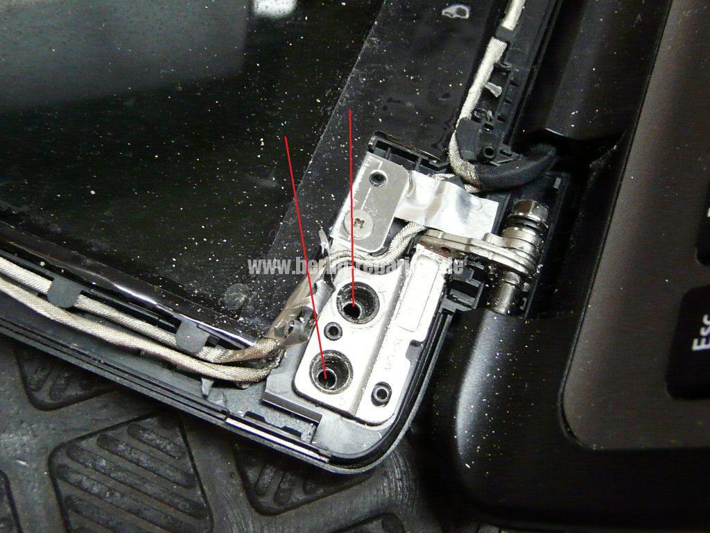 ACER Displaydeckel Reparatur (2)