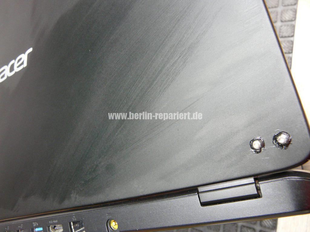 ACER Displaydeckel Reparatur (4)