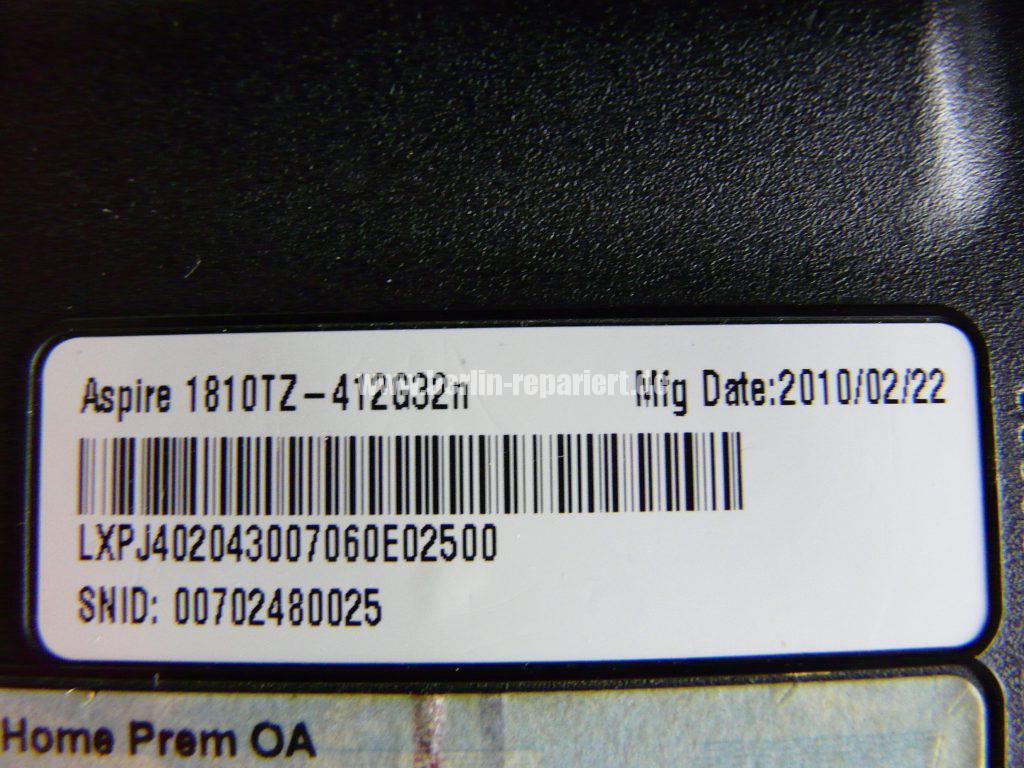 Acer Aspire 1810TZ, Streifen  (4)