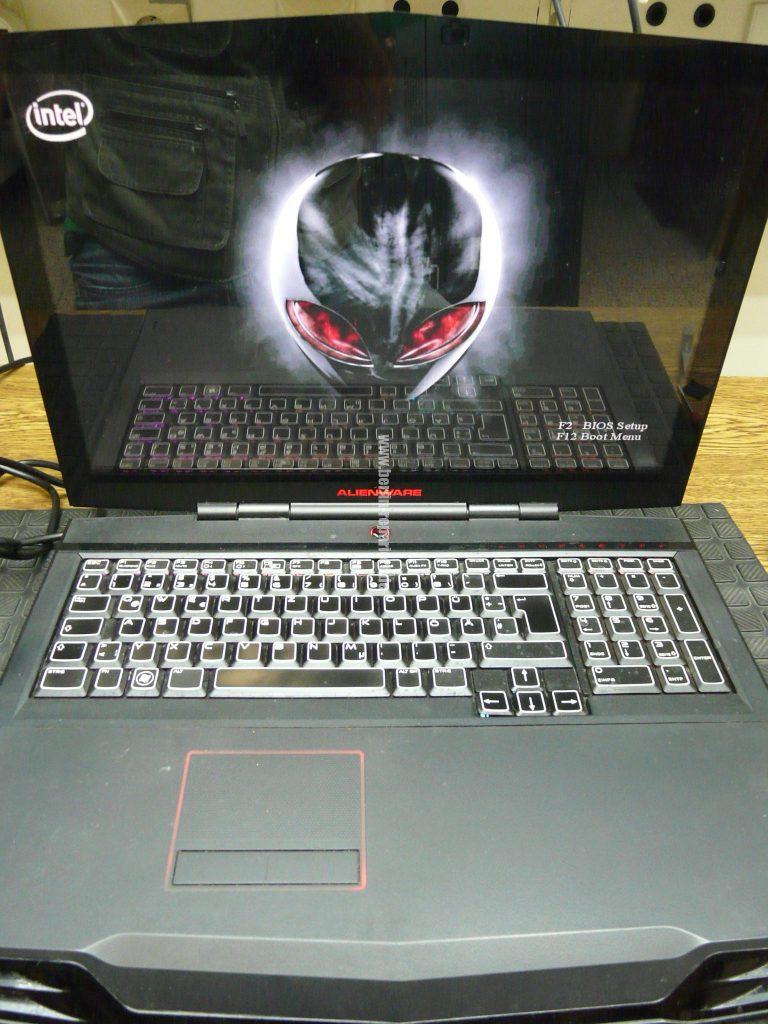 Alienware M17X, keine Funktion, Netzbuchse defekt, Repariert