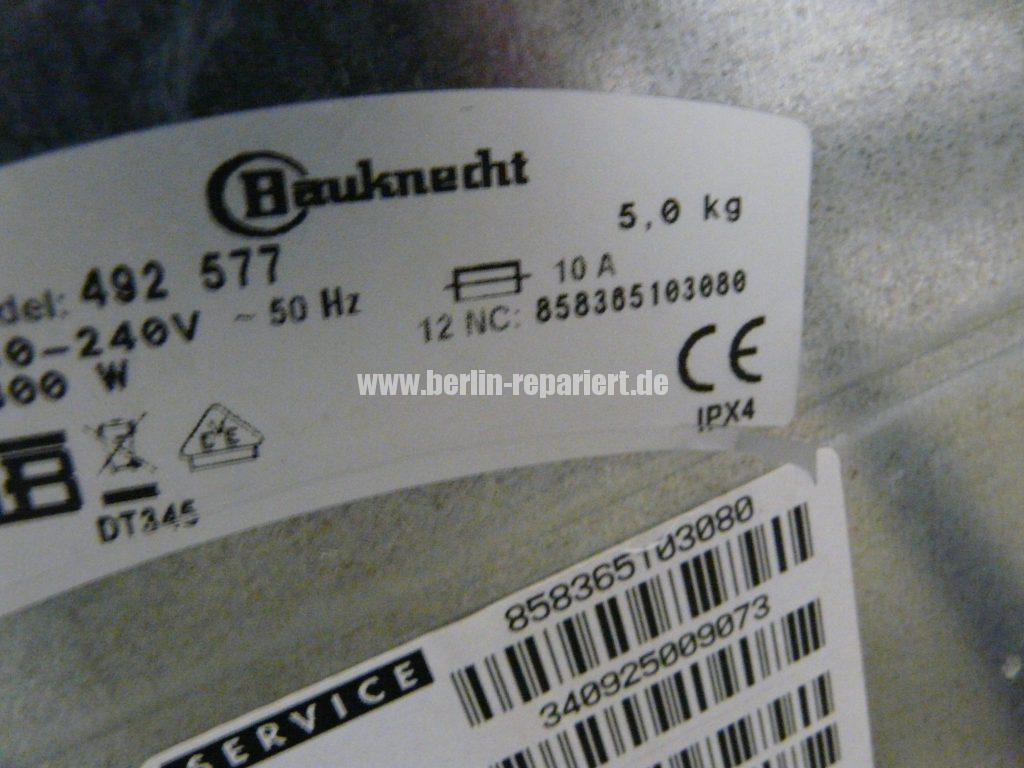 Baucknecht WAT Care 20, Service LED leuchtet (5)