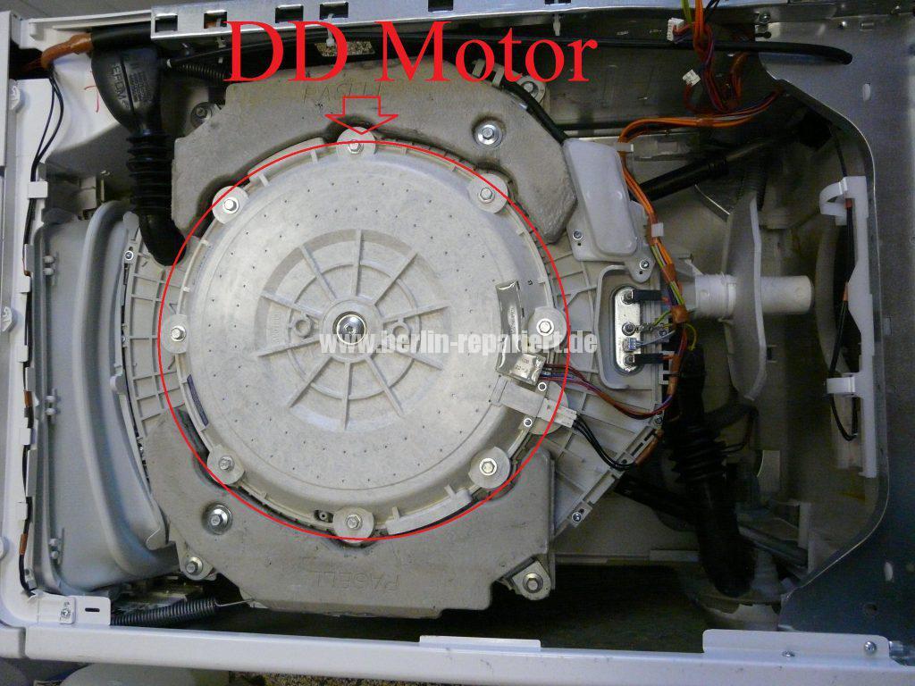 Bauknecht WAT UNIQ &12 AAA, Motor dreht nicht (2)