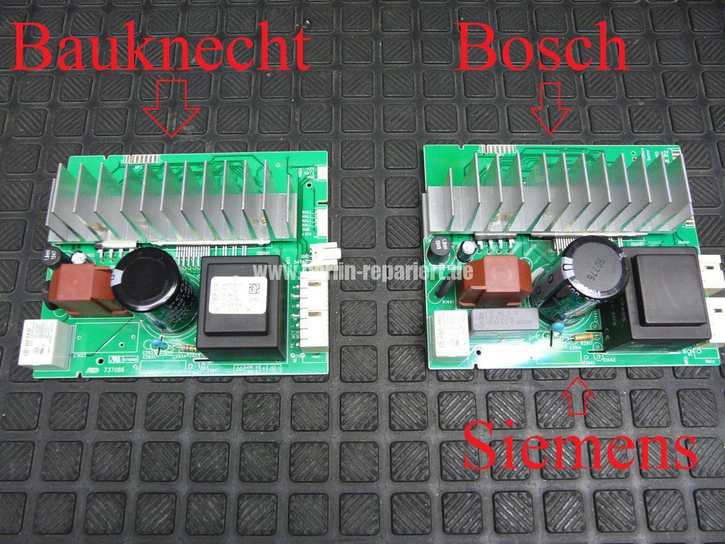 Bauknecht WAT UNIQ &12 AAA, Motor dreht nicht (8)