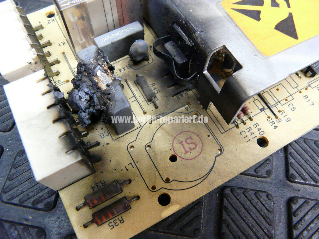 Bosch Motorelektronik durchgebrannt (2)
