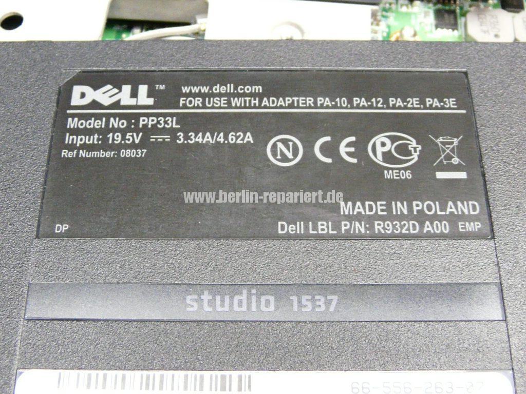 Dell Studio 1537, geht nicht An (15)