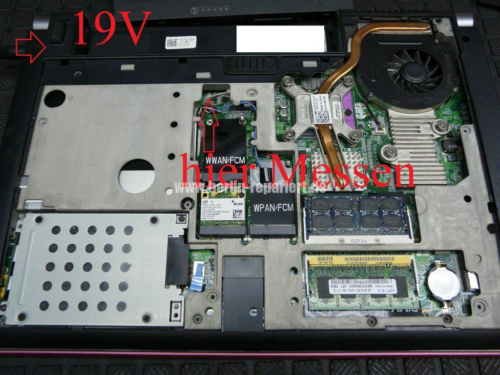 Dell Studio 1537, geht nicht An (3)