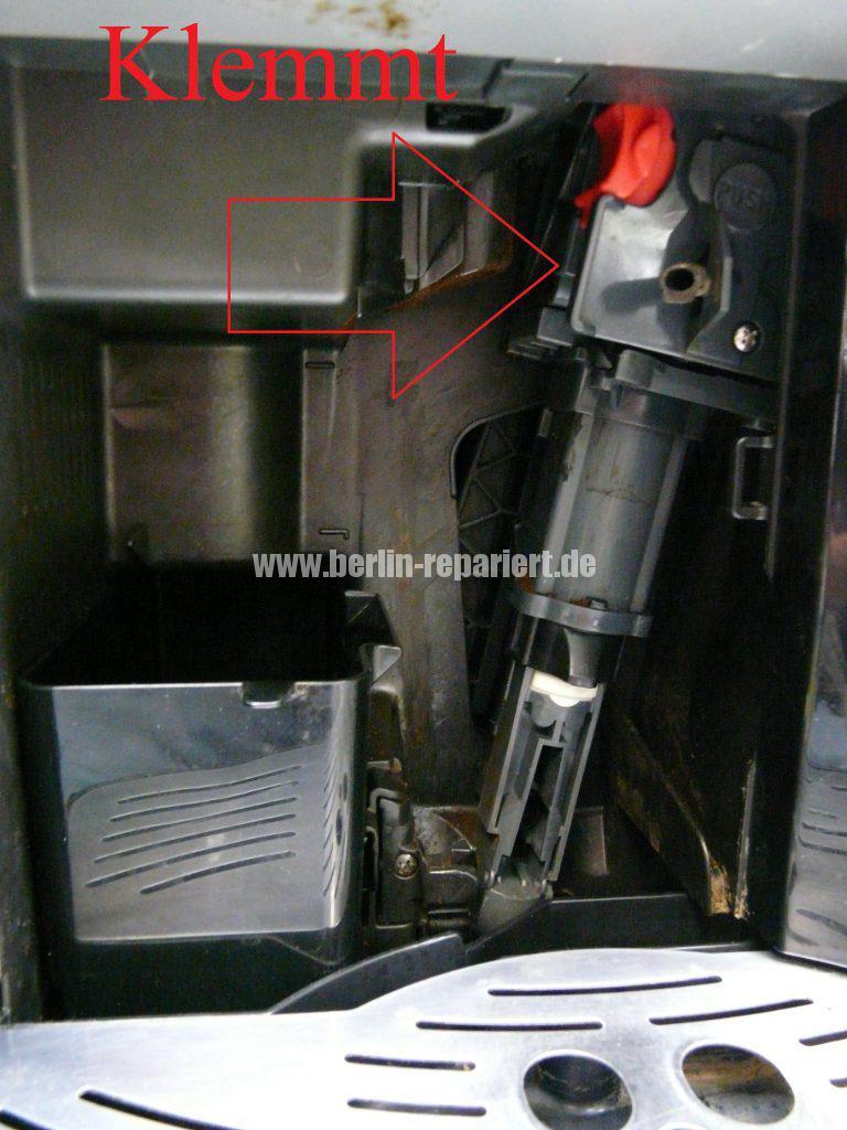 Delonghi ESAM3100, Brühgruppe klemmt (2)