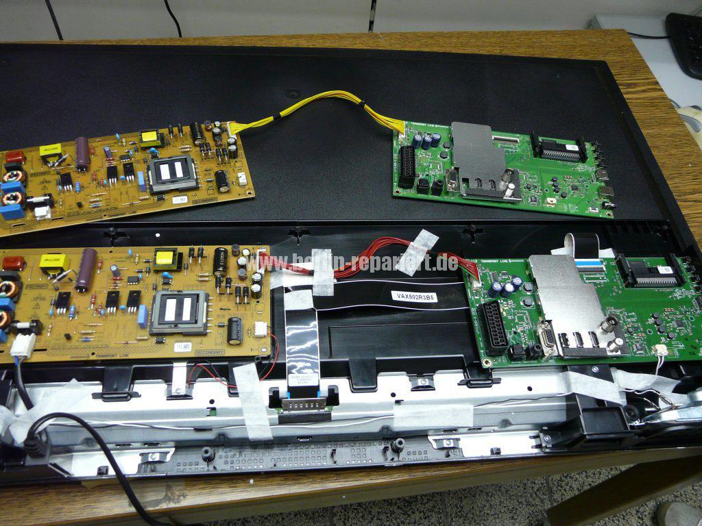 Grundig 40 VLE 555, Display Schaden (4)
