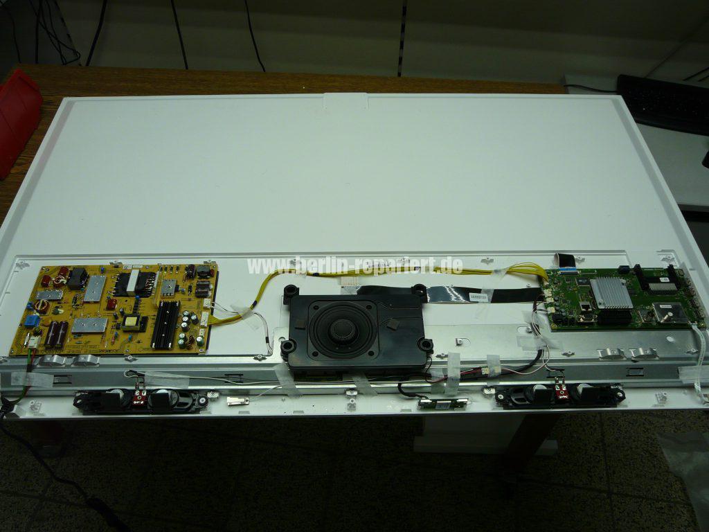 Grundig 55 VLE 8471, Display Schaden (4)