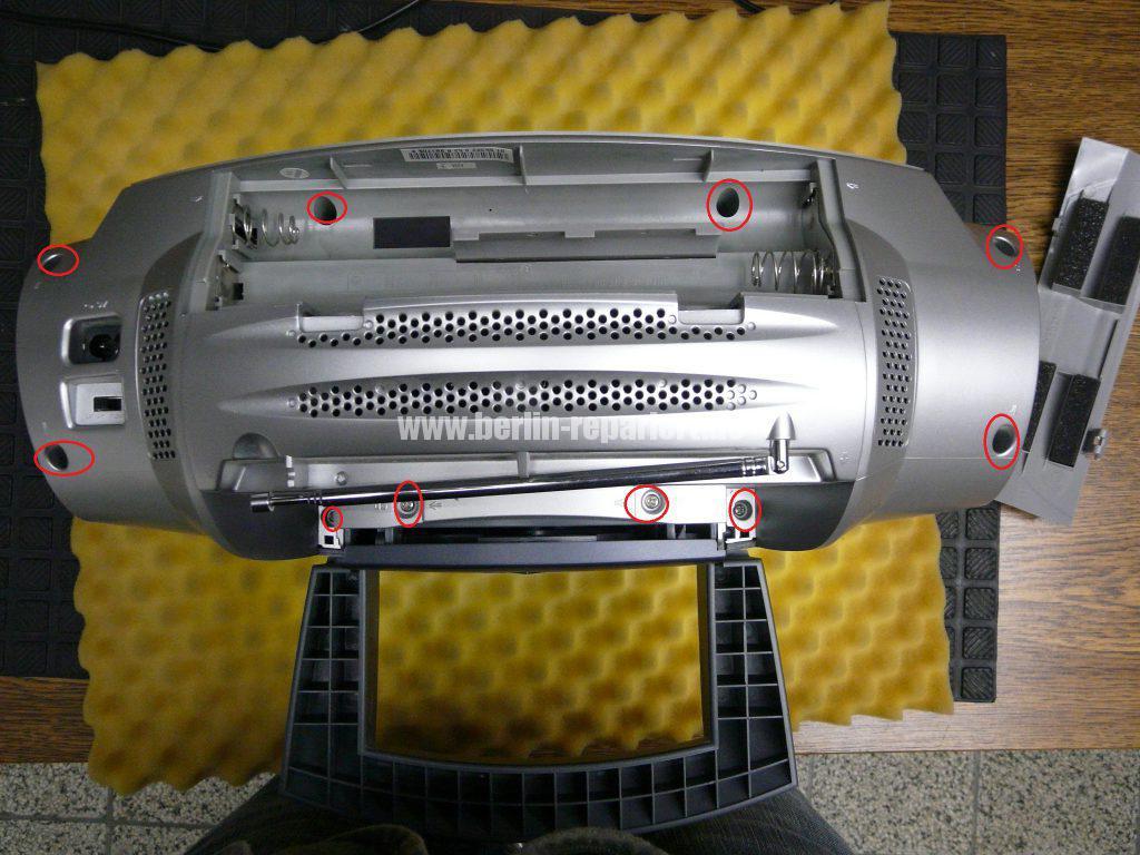 Grundig Beezz RRDC 4101, Ton leise und brumt (2)