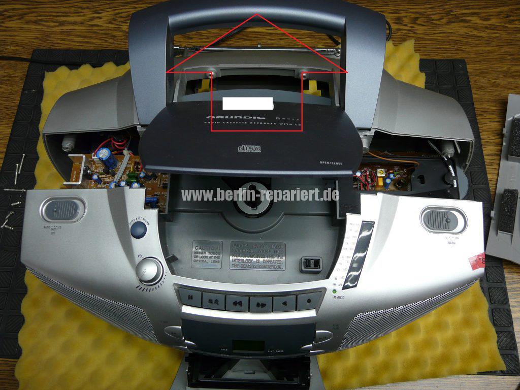 Grundig Beezz RRDC 4101, Ton leise und brumt (4)