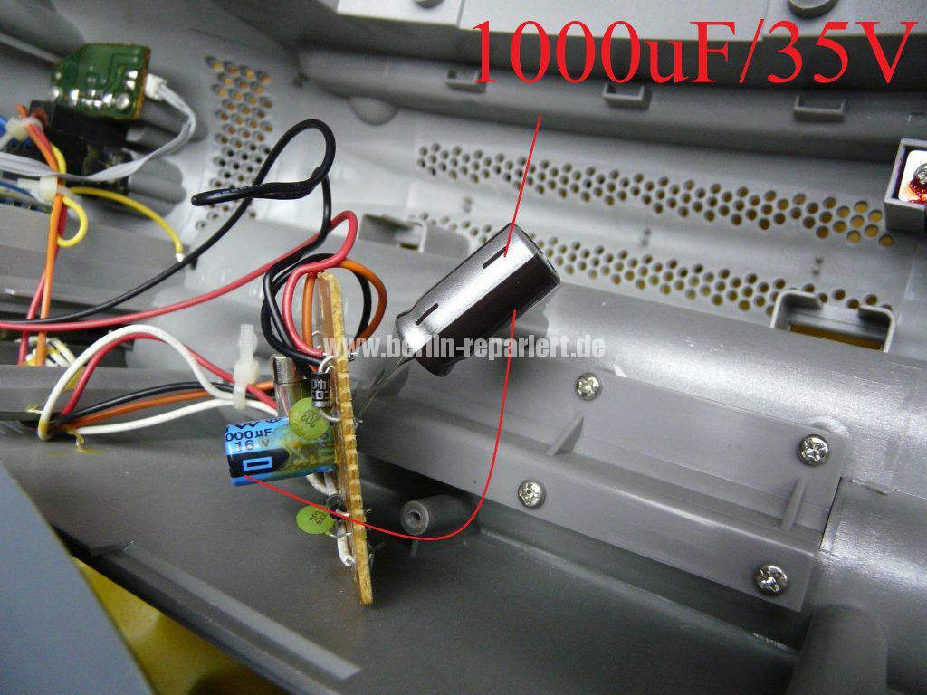 Grundig Beezz RRDC 4101, Ton leise und brumt (6)