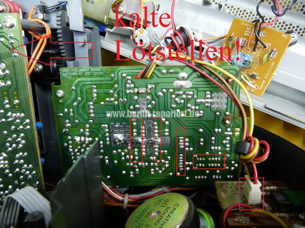 Grundig Beezz RRDC 4101, Ton leise und brumt (7)