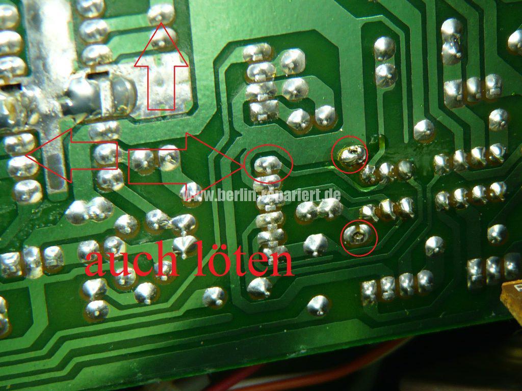 Grundig Beezz RRDC 4101, Ton leise und brumt (8)