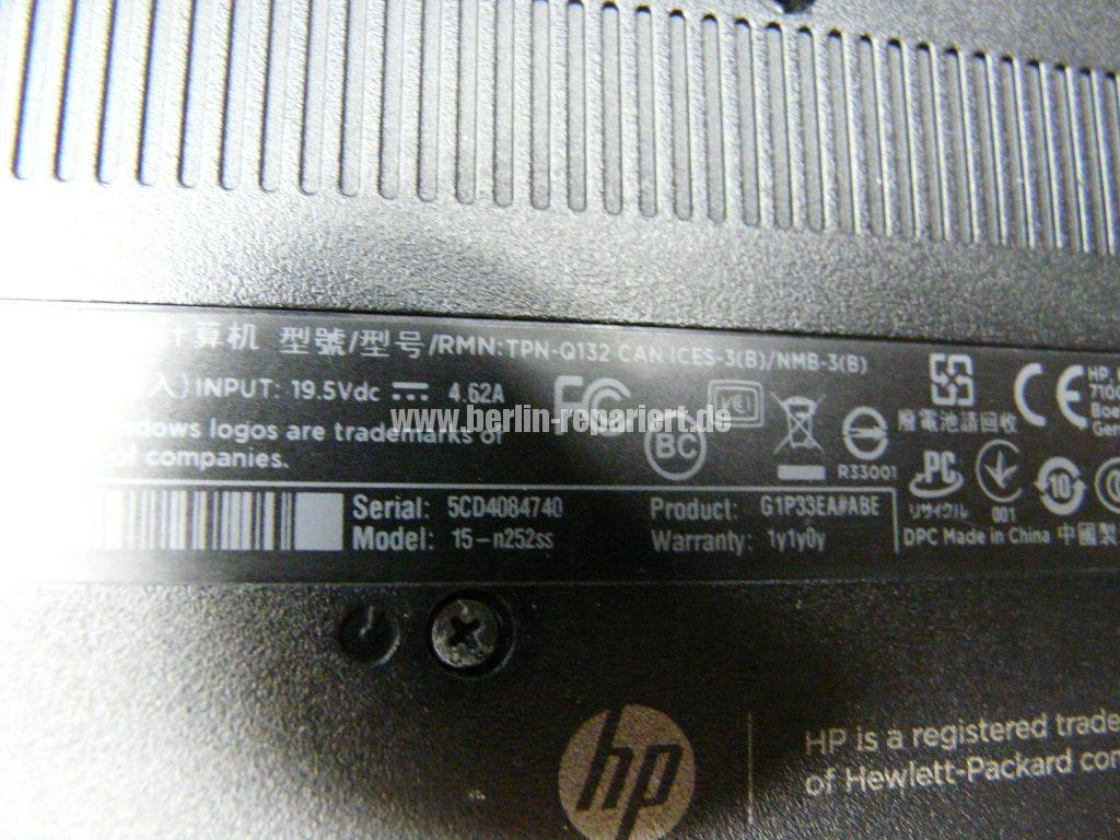 HP 15-n252, kein Bild (7)