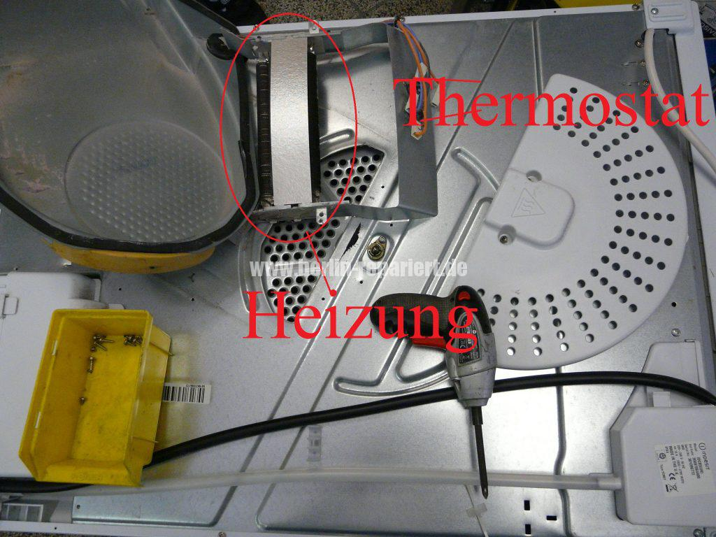 Indesit IDC85, Überhitzt,der Heizung schlatet nicht ab (2)