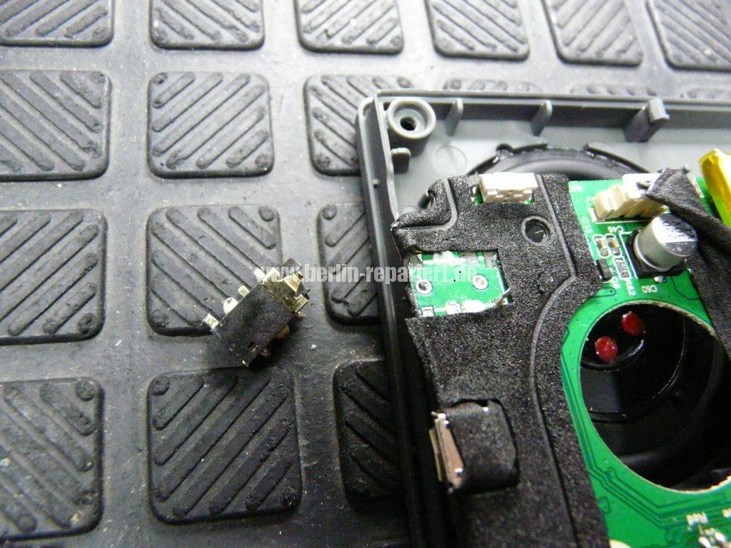 Jam HX-P450, Kopfhörerbuchse abgerissen (4)