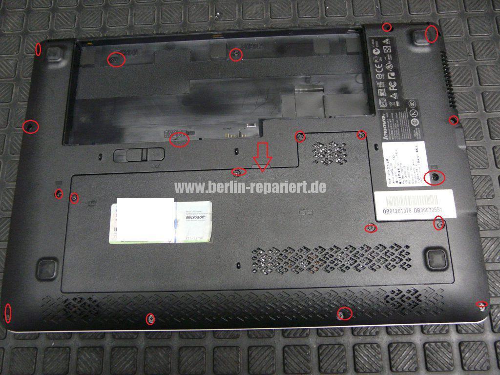 Lenovo IdeaPad U350, geht nicht an (3)