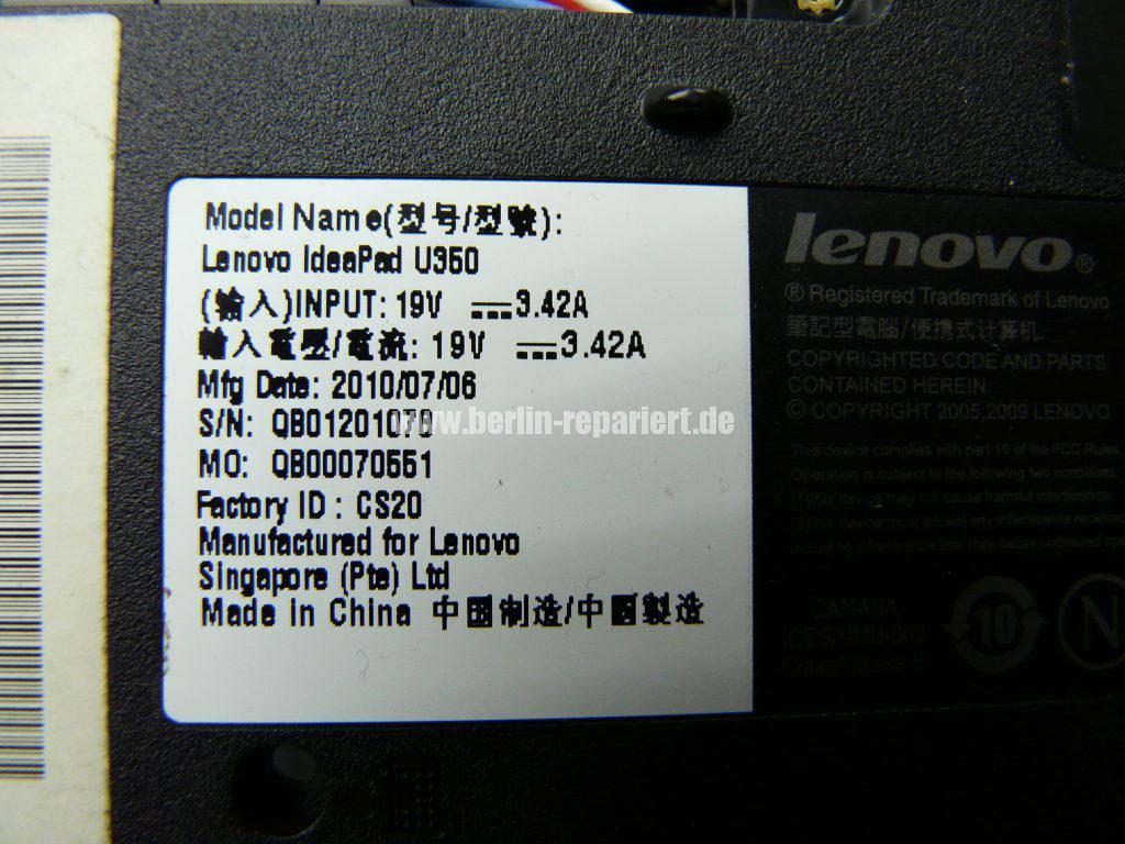 Lenovo IdeaPad U350, geht nicht an (9)
