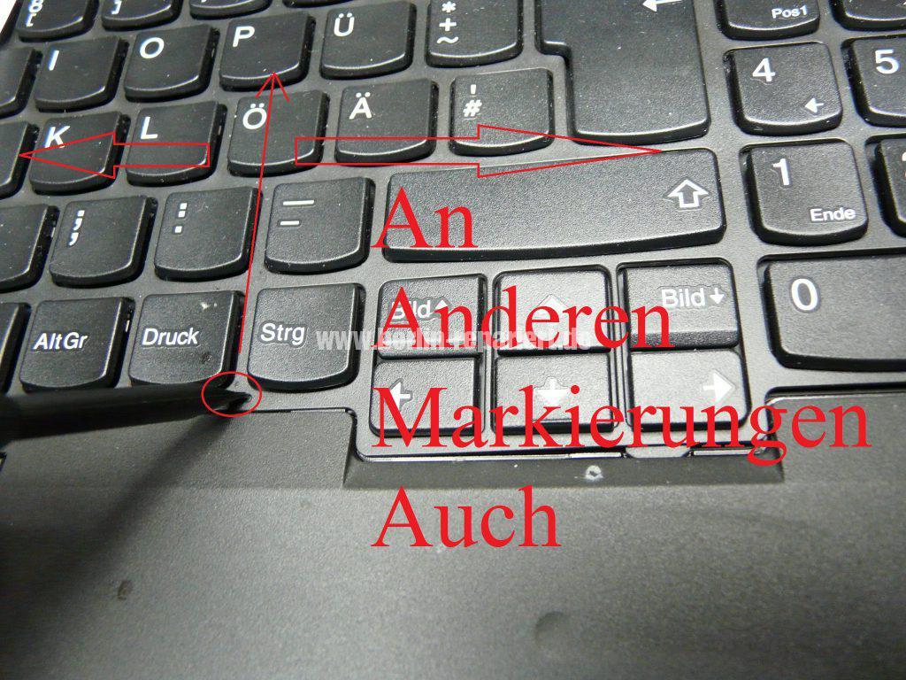 Lenovo W541, Tastatur defekt (3)