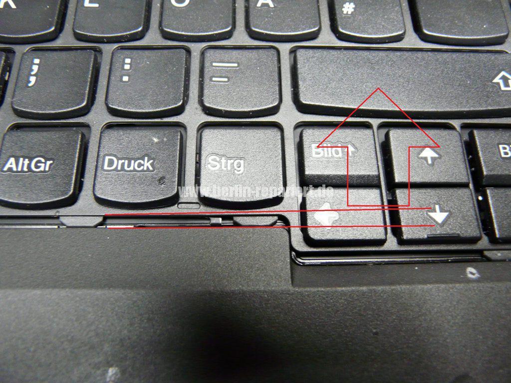 Lenovo W541, Tastatur defekt (4)