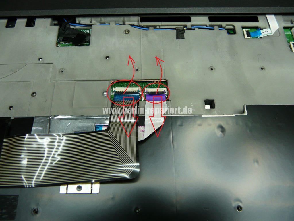Lenovo W541, Tastatur defekt (7)