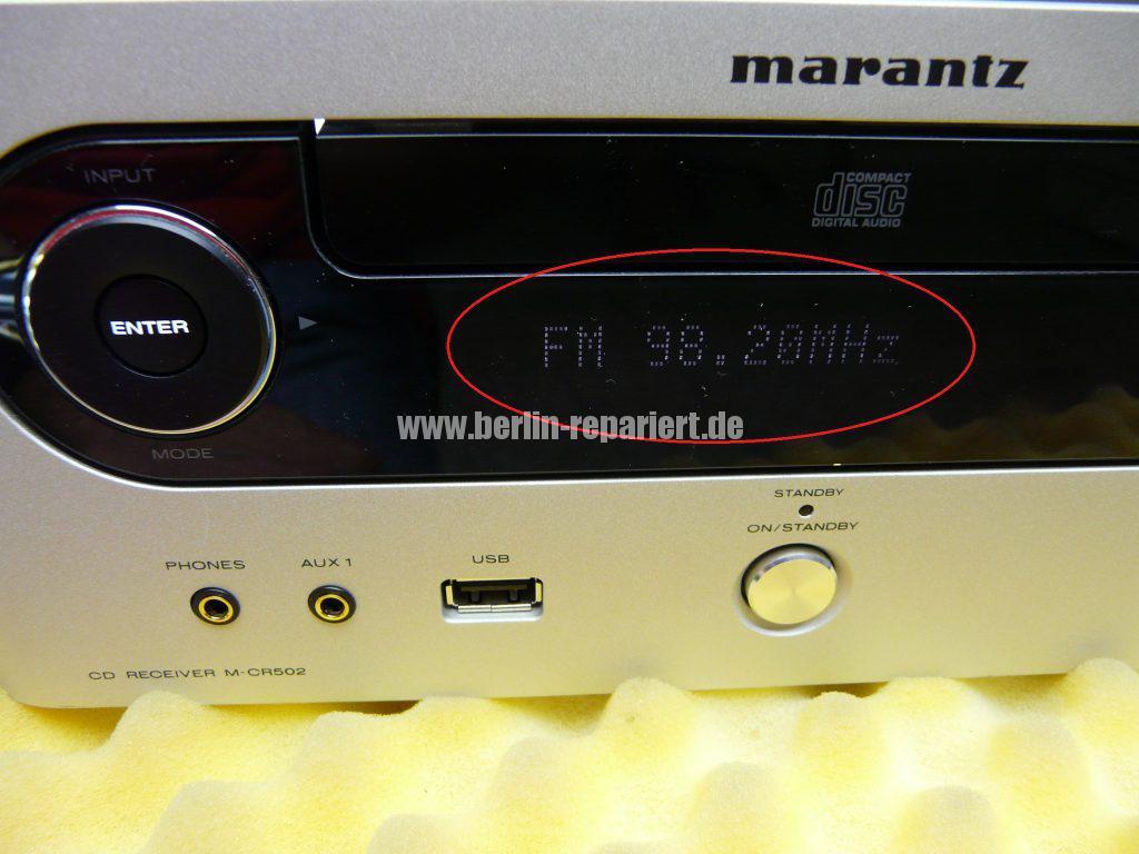 Marantz M-CR502, keine Funktion (10)