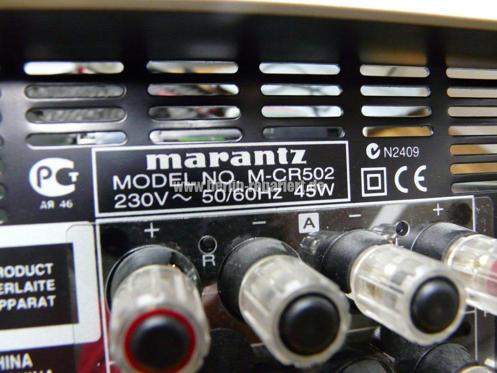 Marantz M-CR502, keine Funktion (11)