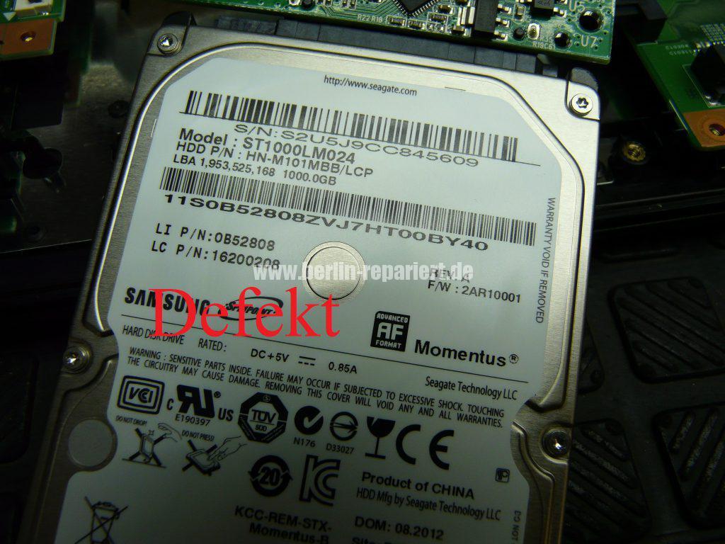 Medion MD99070, Startet nicht (12 )