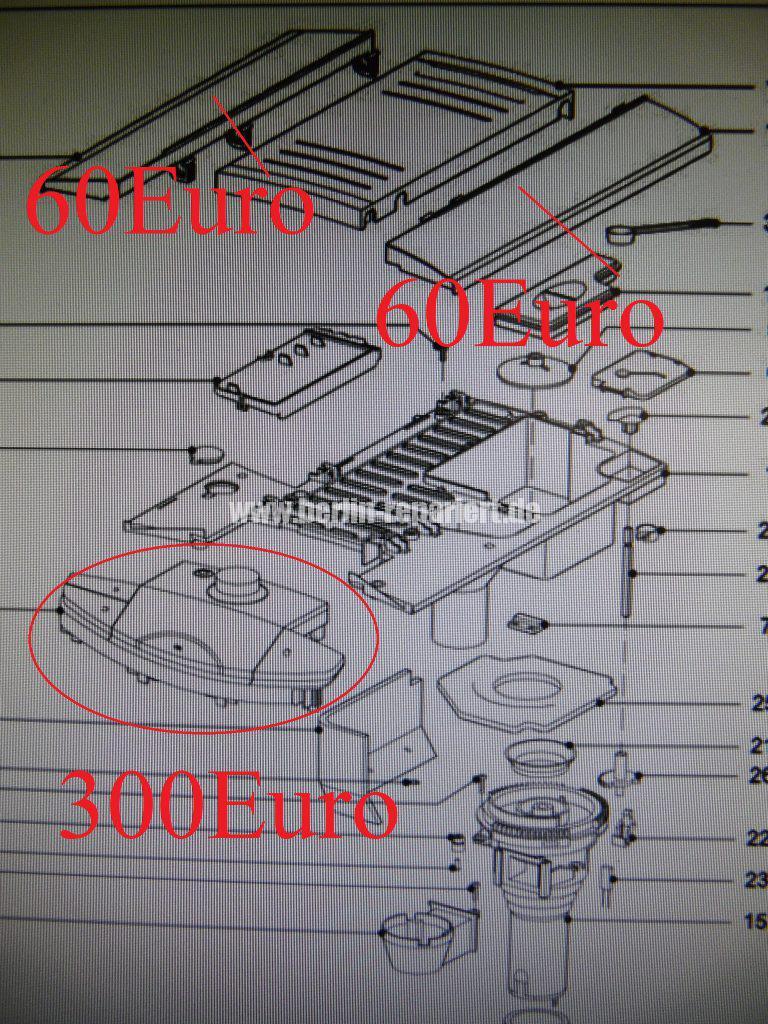 Miele CM5000, Bedienung nicht mögllich (12)