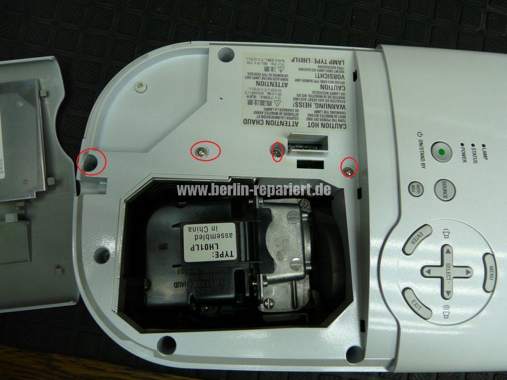 NEC HT510, Streifen in Bild, keine weitere Funktionen (5)