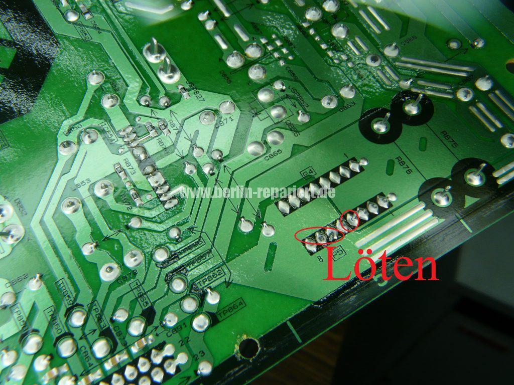 Panasonic TX-37LX85F, Grüne LED Blinkt schnell, kein Bild (5)