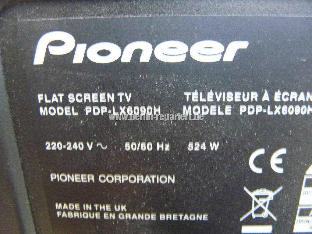 Pioneer PDP-LX6090H, keine Funktion (11)