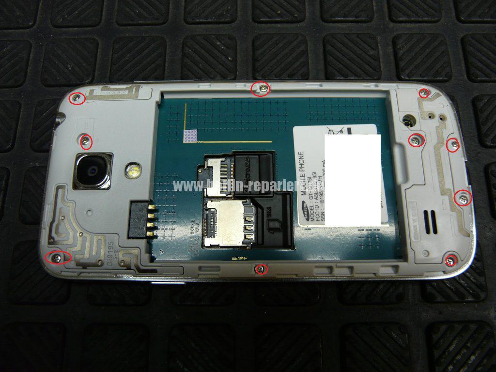 Samsung Galaxy S4 Mini, GT-i9195i, kein Bild mehr (3)