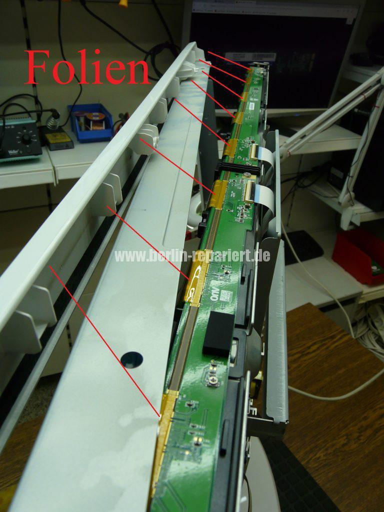 Samsung LE40A455, Display Streifen, Display Reparieren (13)